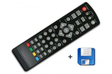 Firmwareupgrade inkl. Fernbedienung für DYON Snap zur Aufnahme auf Festplatten und USB Speichermedien